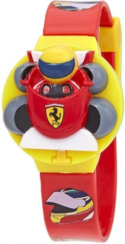FERRARI Mod. KID KIT – INTERCHANGEABLE TOP Wristwatch SCUDERIA FERRARI Kid