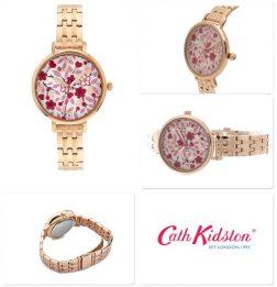CATH KIDSTON Mod. LITTLEMORE FLOWERS Wristwatch CATH KIDSTON