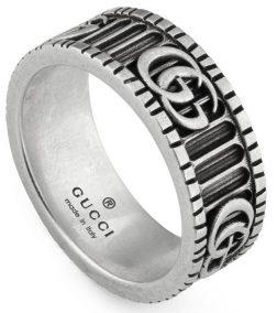 GUCCI JEWELS Mod. GG MARMONT Ring GUCCI JEWELS Silver Lady
