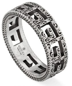 GUCCI JEWELS Mod. G CUBE Ring GUCCI JEWELS Silver Unisex