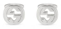 GUCCI JEWELS Mod. INTERLOCKED G Cufflinks GUCCI JEWELS Silver Gent