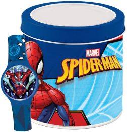 MARVEL KID WATCH Mod. SPIDERMAN – Tin box Wristwatch CARTOON Kid