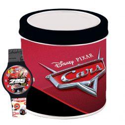 PIXAR KID WATCH Mod. CARS – Tin box Wristwatch CARTOON Kid
