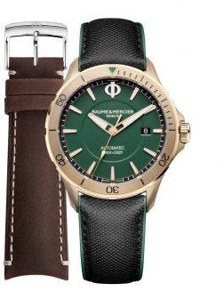 BAUME & MERCIER Mod. CLIFTON With Extra Strap Wristwatch BAUME&MERCIER Gent