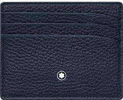 MONTBLANC Mod. MEISTERSTUCK Wallet 7cc ID Card Black Credit Card Holder MONTBLANC