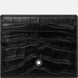 MONTBLANC Mod. MEISTERSTUCK Organiser Medium Black Credit Card Holder MONTBLANC