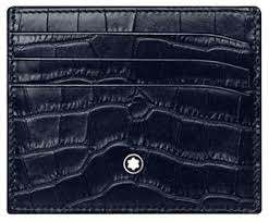 MONTBLANC Mod. 1030793 Revers. calf strap_120 cm_bk/brown_30mm Credit Card Holder MONTBLANC